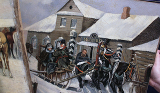 Тверь середины ХIХ века…Работа художника В.Стромилова