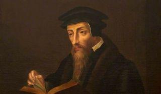 Жан Кальвин,   французский богослов, реформатор церкви, основатель кальвинизма