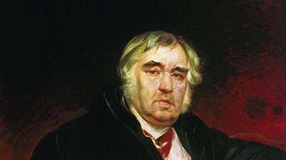 Портрет баснописца И. А.Крылова, 1839. Не окончен. Карл Павлович Брюллов