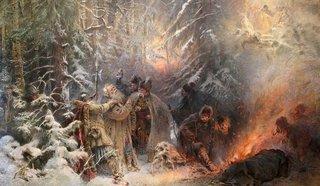 Константин Маковский. Иван Сусанин. 1914