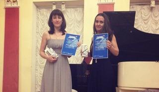 Дарья Музыка и Мария Котова. Фото Людмилы Осиповой