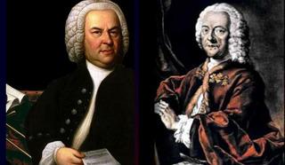 Иоганн Себастьян Бах, композитор,  и  Георг Филипп Телеман, композитор /https://redsearch.org/