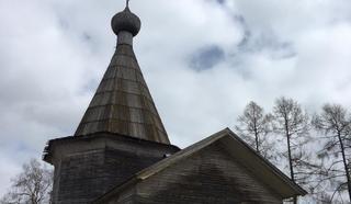 Богоявленский храм (село Ошевенское, Каргопольский край, Архангельская область). Фото Ксении Ламшиной