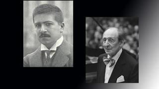 Артур Шнабель, австрийский пианист и  Владимир Горовиц, советский и американский пианист /ru.wikipedia.org/