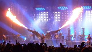 Концерт Rammstein. Автор фото KinkESizemore / u.wikipedia.org/