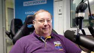 Александр Пыжиков в студии