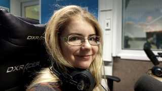 """Надежда Шахворостова в студии """"Радио России"""""""