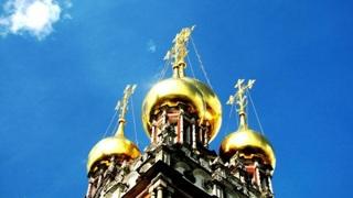 Купола Храма Воскресения Христова в Кадашах. Фото - А. Белицкий