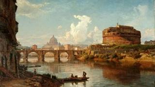 «Замок святого Ангела»  Художник Сильвестр  Щедрин. 1823 год