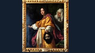 """Кристофано Аллори """"Юдифь с головой Олоферна"""" (1613)"""