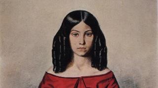 Портрет Н.П. Жданович в детстве 1846. Павел Федотов