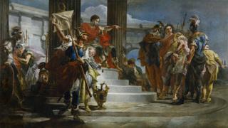 Сципион освобождает Массиву (картина Джованни Тьеполо)
