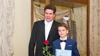 М. Логинов и Д. Мацуев. Фото Сергея Рогозина