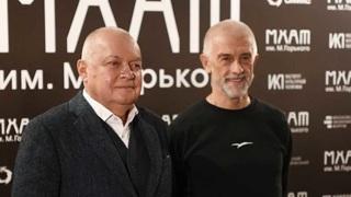 Дмитрий Киселев  и Эдуард Бояков. Фото Владимира Астапковича