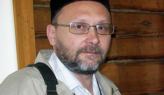 Дмитрий Макаров (Ахмад Хаджи), руководитель отдела по работе с общественными организациями Духовного управления мусульман Европейской части России (© из личного архива А. Макарова).