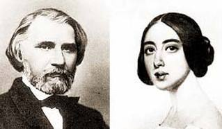 Иван Тургенев и Полина Виардо