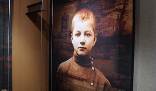 Андрей Климентов, ставший знаменитым писателем, Платоновым на фото 1914 года.