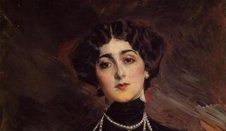 Джиованни Болдини (Giovanni Boldini) - женский портрет 19 век