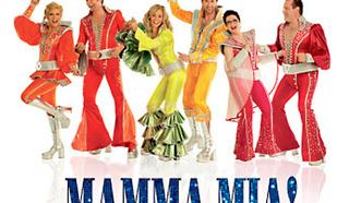 """Мюзикл """"Мамма Миа!"""" (""""Mamma Mia!"""") на Бродвее."""