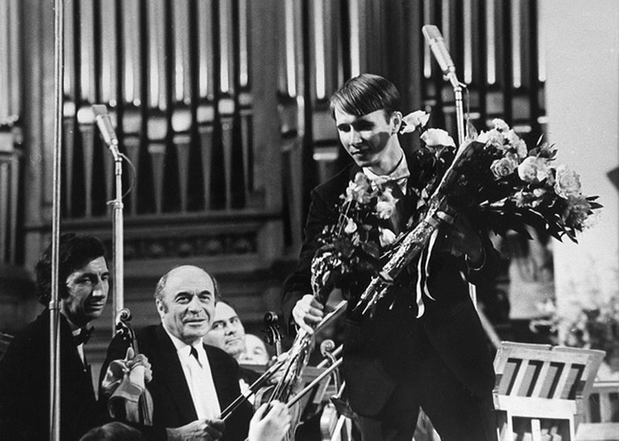 Михаил Плетнёв на Международном конкурсе имени П.И.Чайковского. 1978 год.