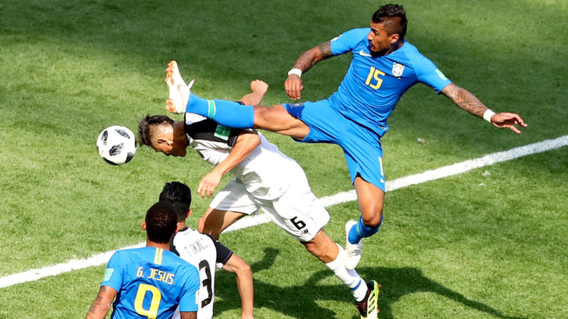 Бразильцы в добавленное время вырвали победу у Коста-Рики
