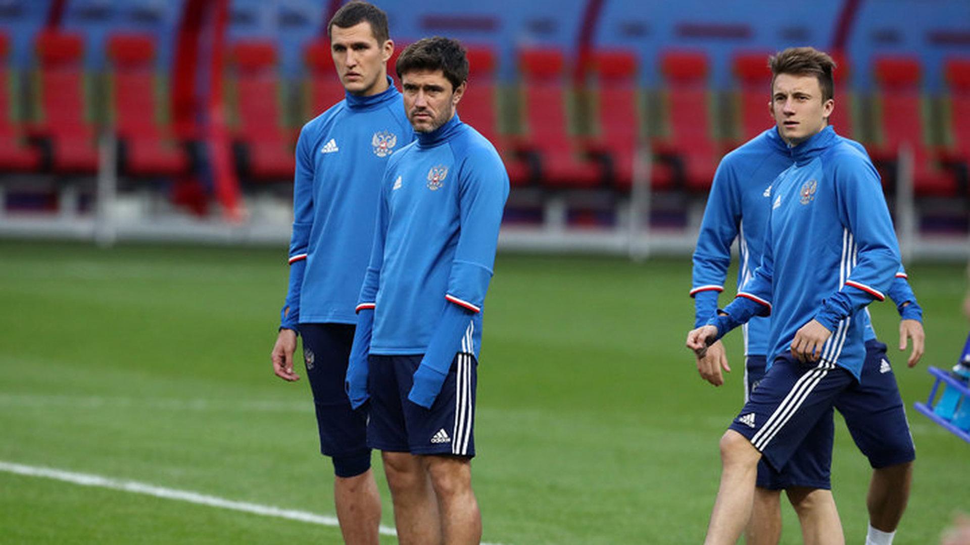Юрий Жирков готовится к матчу с Уругваем в общей группе