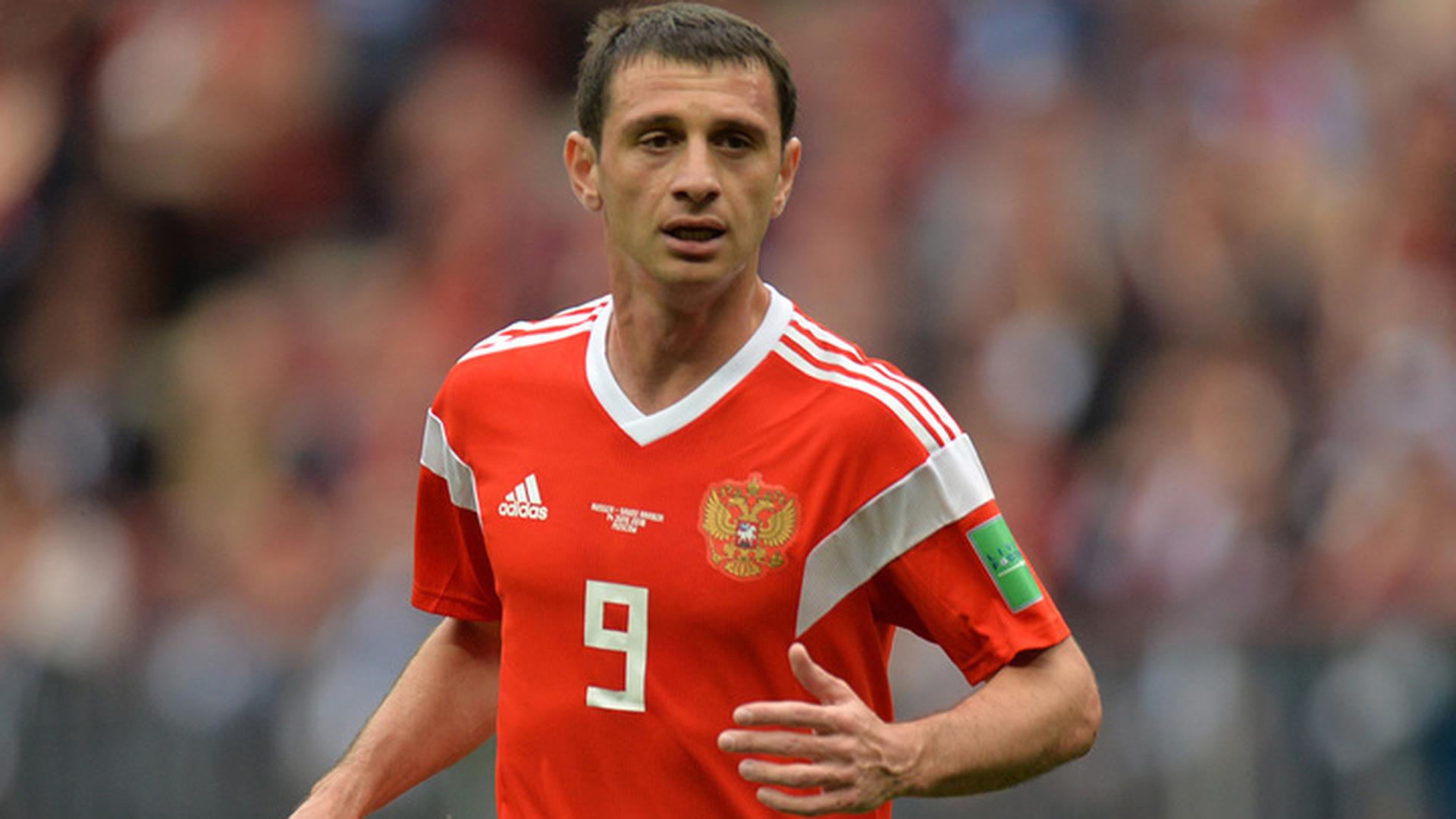 Дзагоев возобновил тренировки в общей группе сборной России