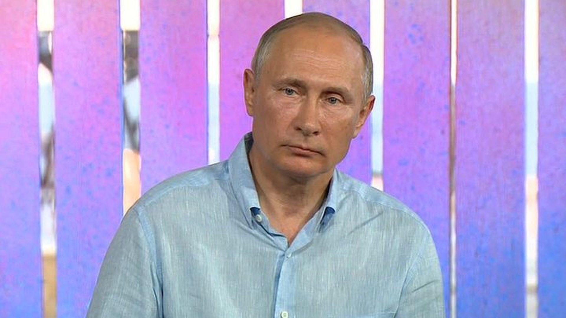 ВКремле поведали  ореакции В.Путина  напоражение русской  сборной наЧМ