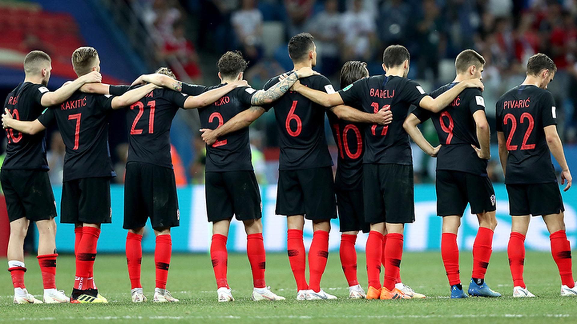 Субашич, Вида и Модрич появятся с первых минут матча против англичан