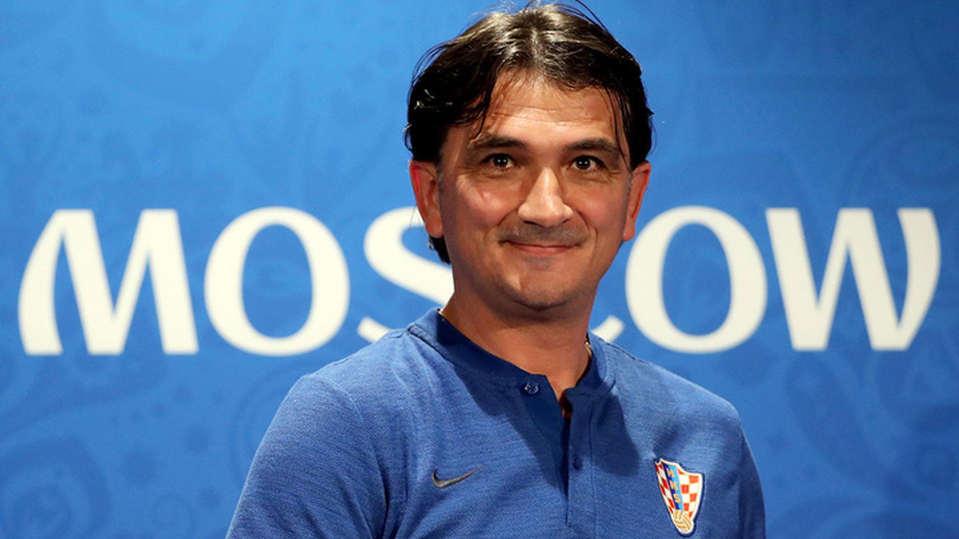 Тренер Хорватии Далич: мы хотим насладиться футболом в финале