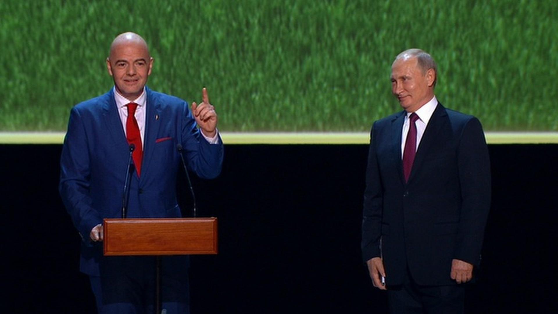 Джанни Инфантино: Россия, большое спасибо за лучший в истории чемпионат мира