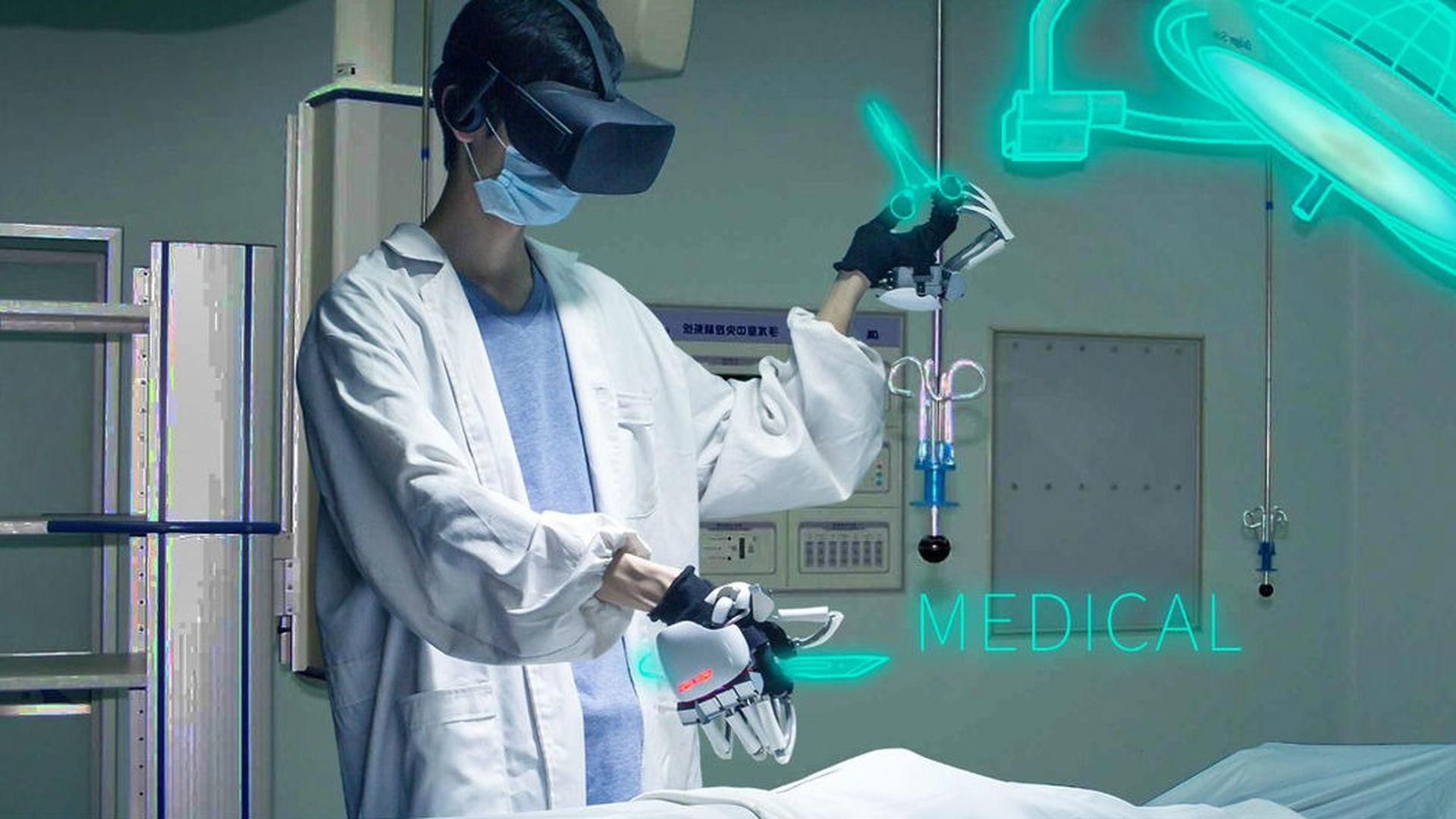 Робот-хирург передает тактильные чувства 87