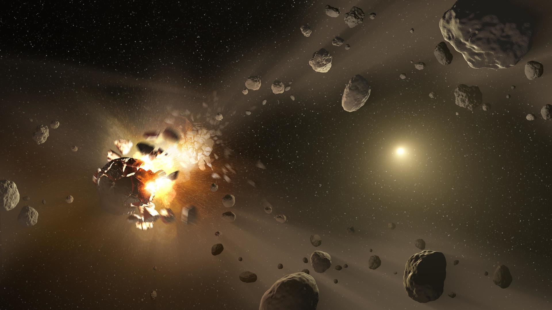 Землю неспасти откатастрофического столкновения састероидом— Ученые