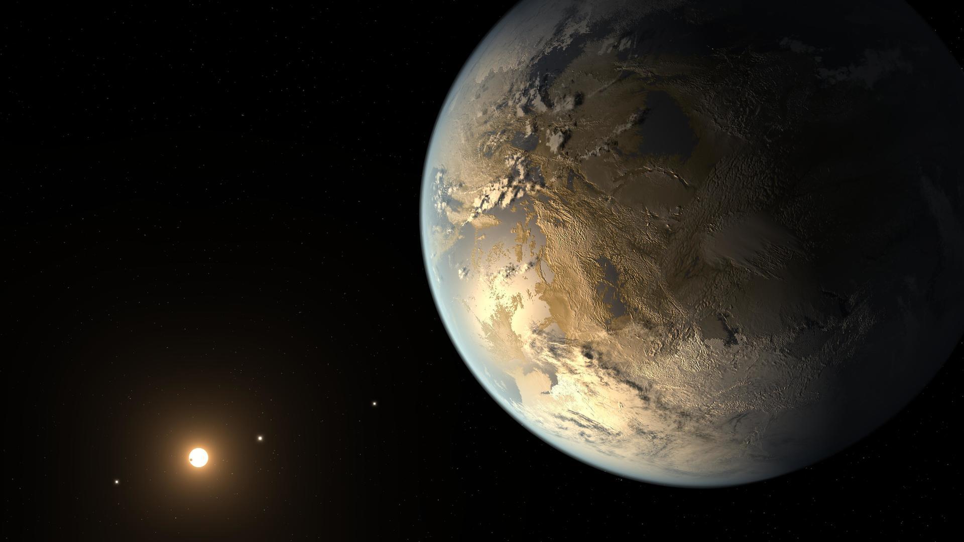 они отвели планета похожая на землю фото такой