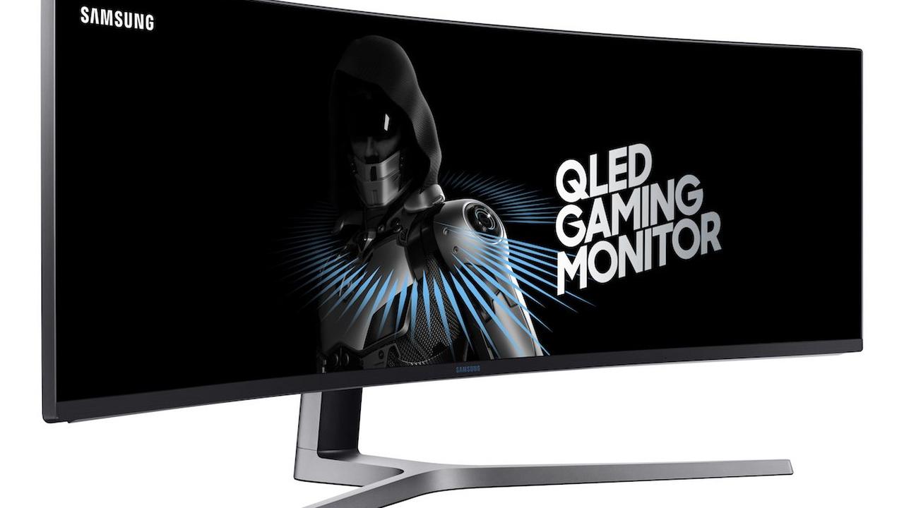 Samsung представила 49-дюймовый геймерский монитор спропорциями 32:9