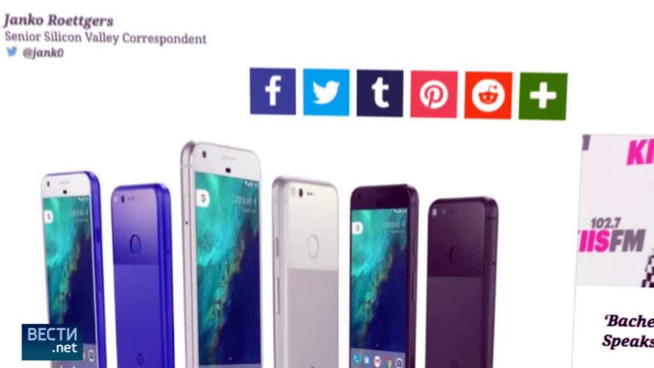 Размещено изображение телефона Google Pixel 2 совсех сторон