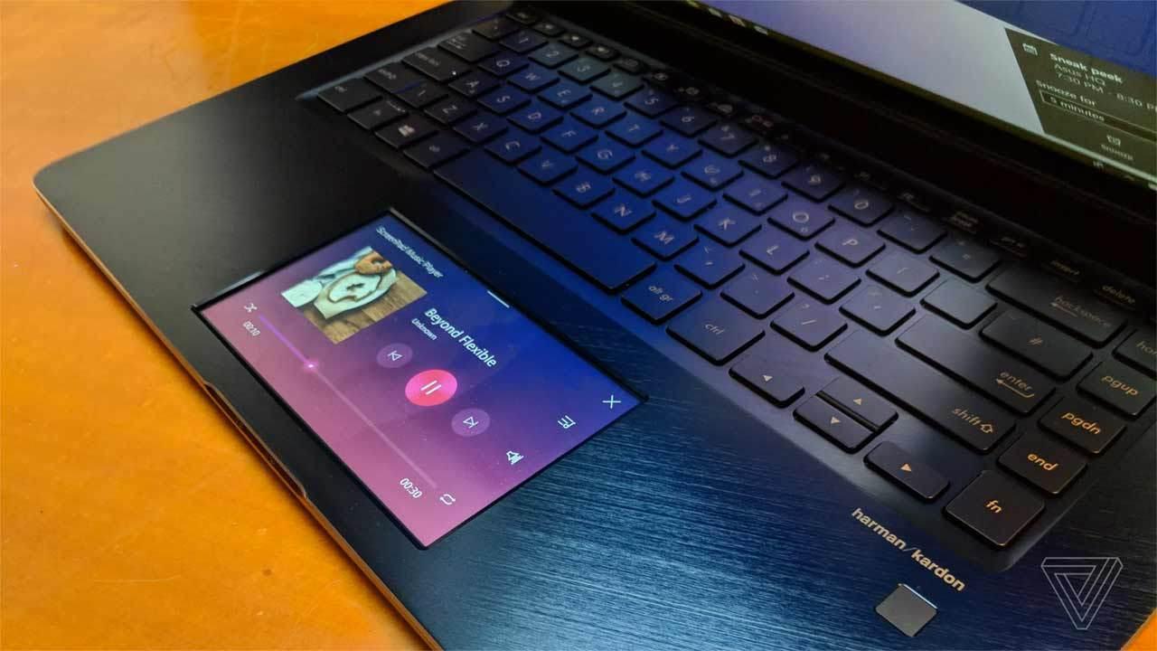 Asus выпустила ноутбук с тачскрином вместо тачпада