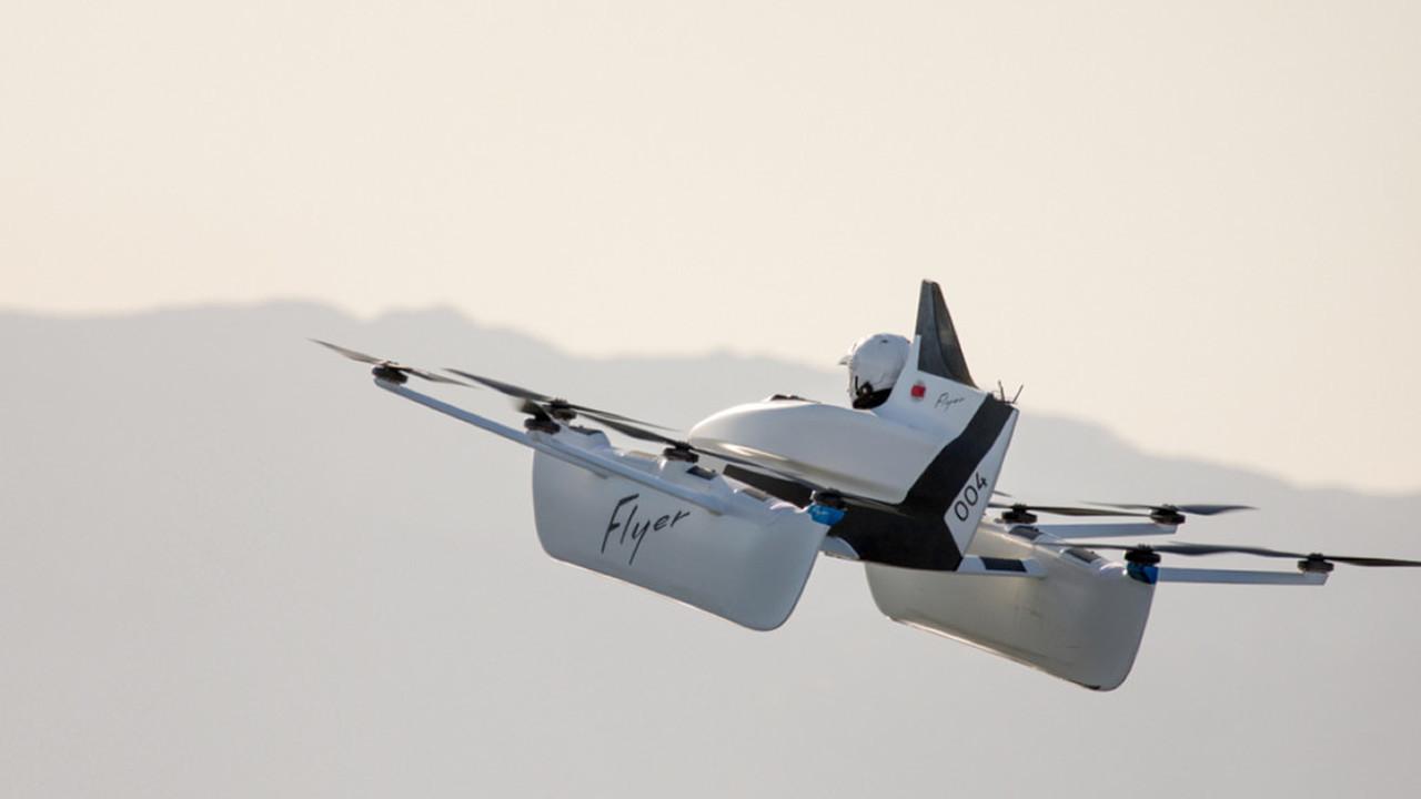 Персональный мультикоптер Kitty Hawk стал доступен для тест-драйвов