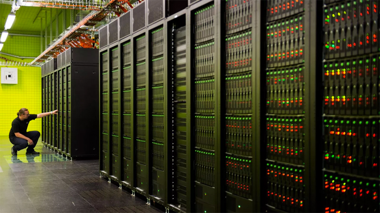 Суперкомпьютер google потребляет
