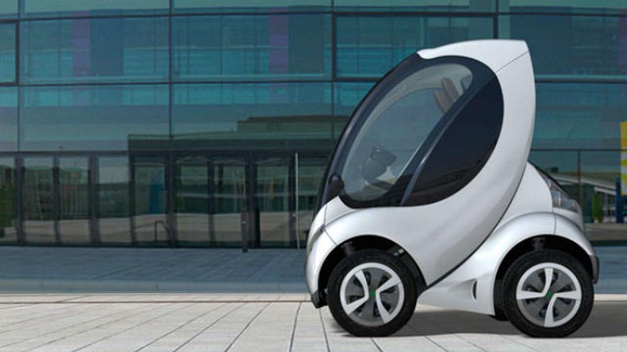 Европейцы создали складной электрический автомобиль