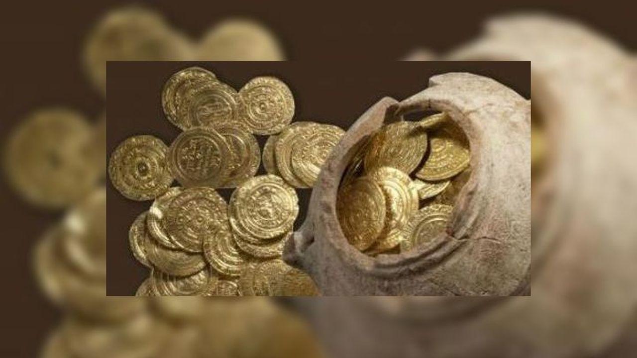 На Святой земле обнаружен золотой тайник, оставленный крестоносцами