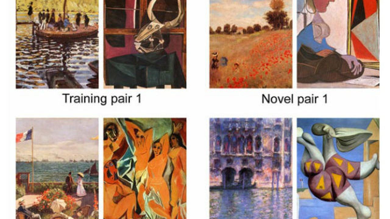 Пчёл научили различать стили живописи