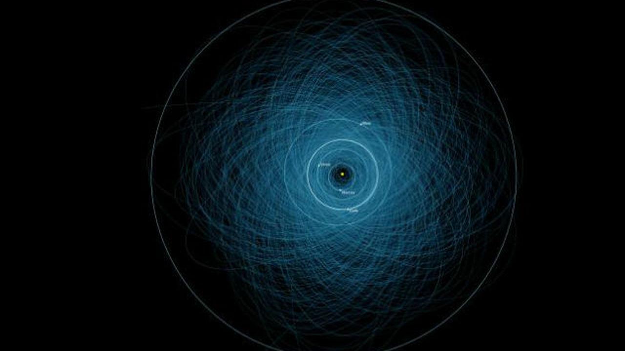 Специалисты NASA определили траектории потенциально опасных астероидов