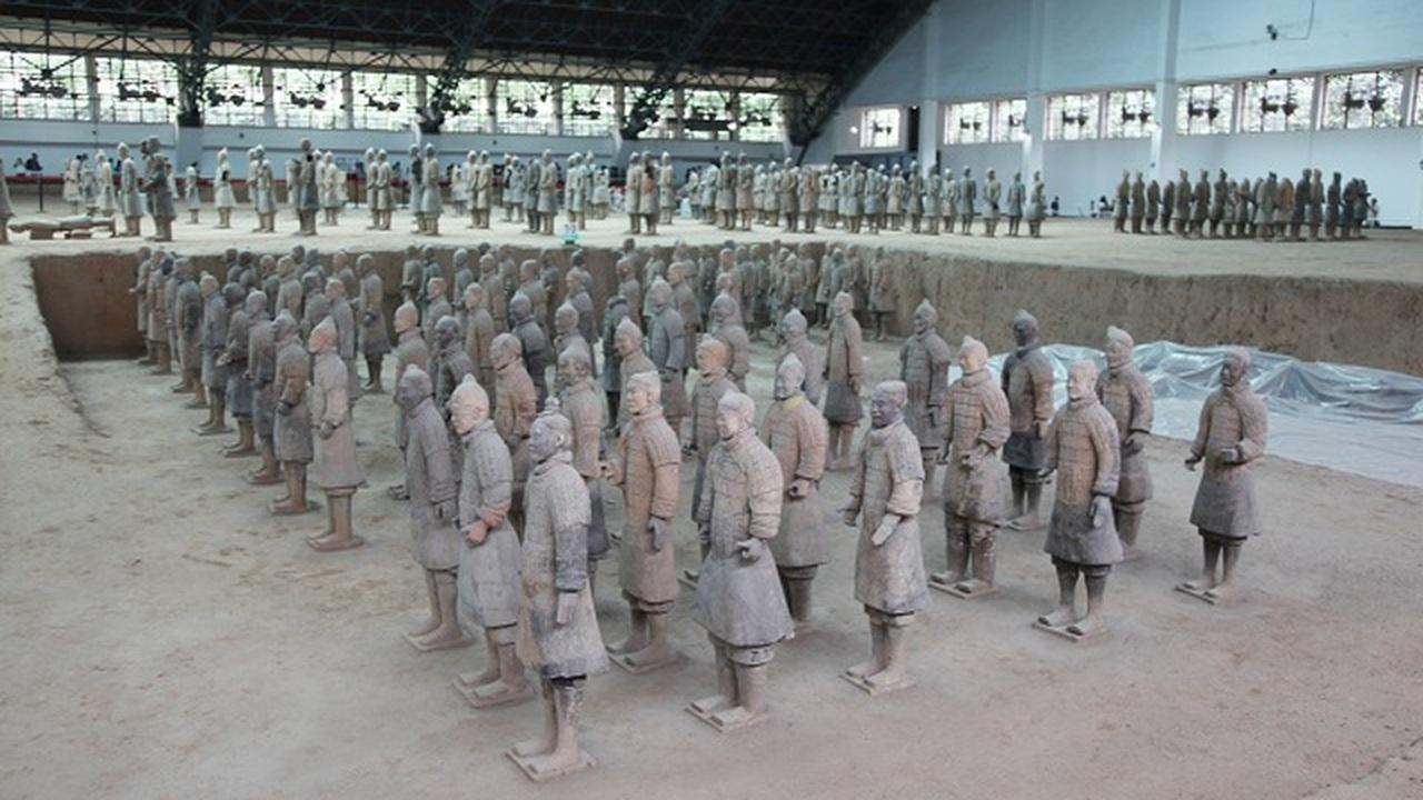 Греки вдохновили китайцев на создание Терракотовой армии