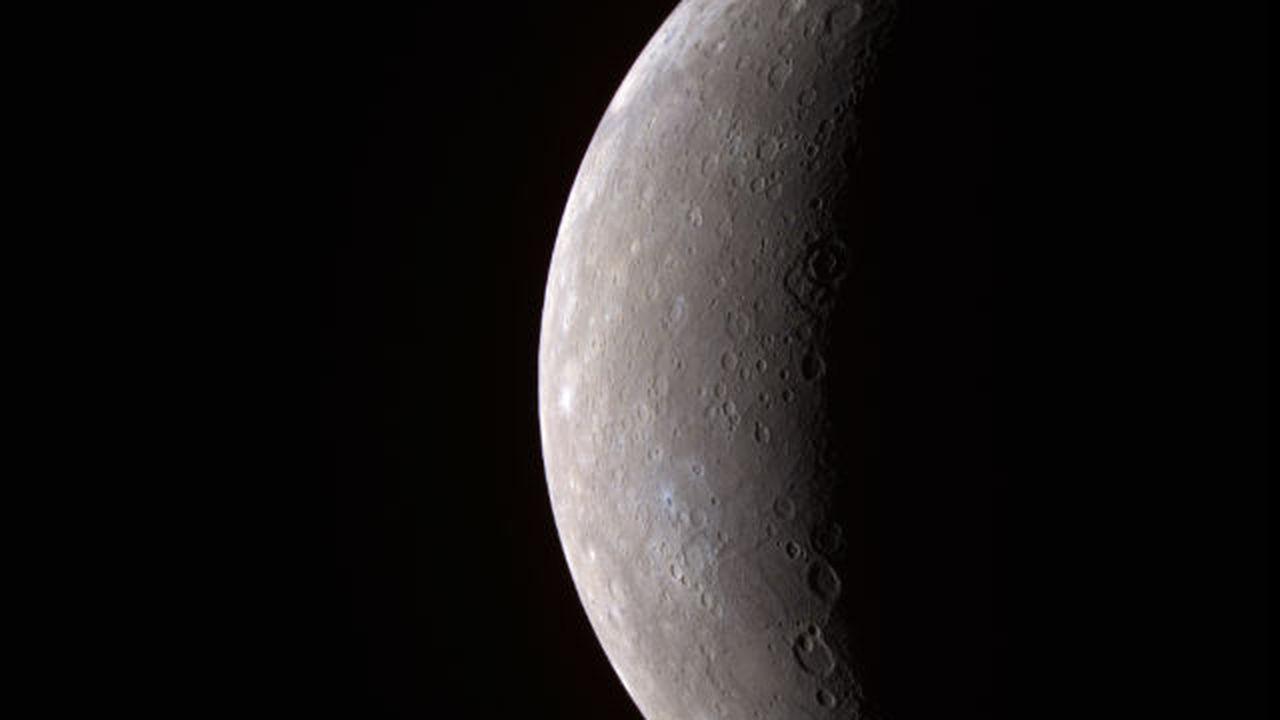 """Меркурий """"похудел"""" на 7 километров"""