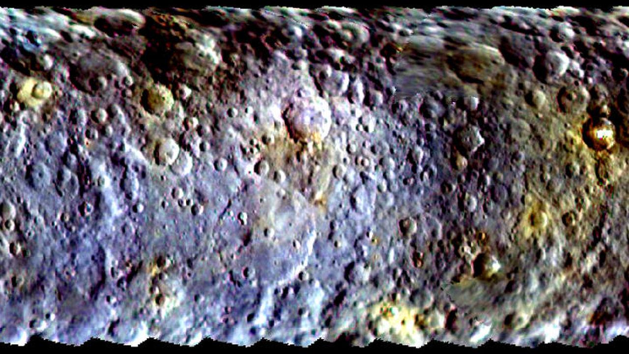 Загадка светлых пятен на Церере стала ещё запутанней