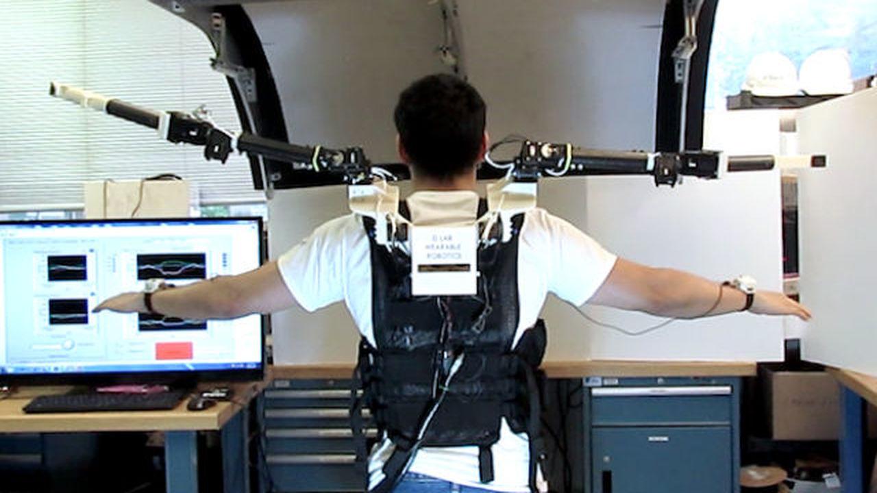 Инженеры из MIT подарят людям дополнительную пару конечностей