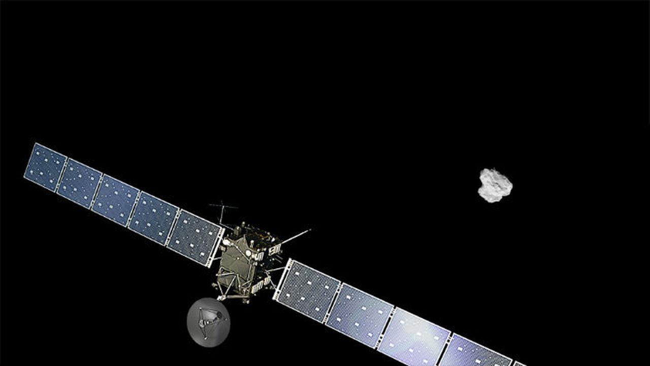 Европейский зонд, преследующий комету, определил её массу