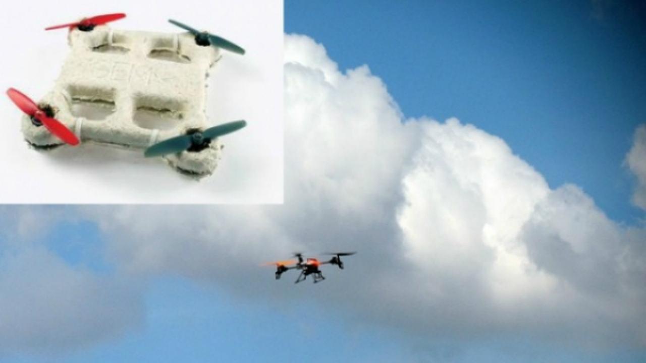 Первый биоразлагаемый беспилотник исчезает после крушения