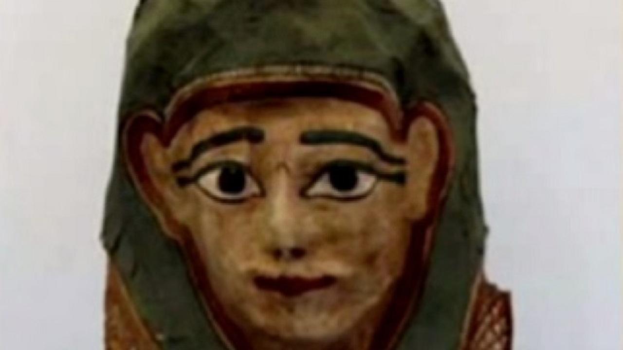 Древнейший текст Евангелия нашли на египетской похоронной маске